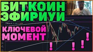 МОЩНОЕ ДВИЖЕНИЕ В БИТКОИН И ЭФИРИУМ УЖЕ СКОРО!!!