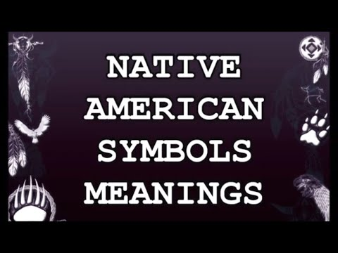 NATIVE AMERICAN SYMBOLS MEANINGS