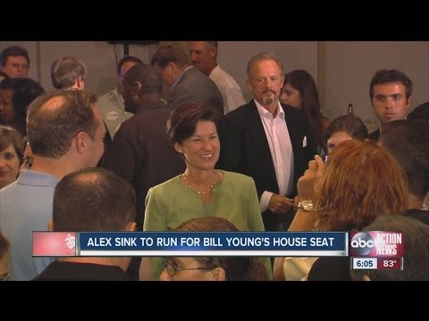 Alex Sink guns for Bill Young's seat