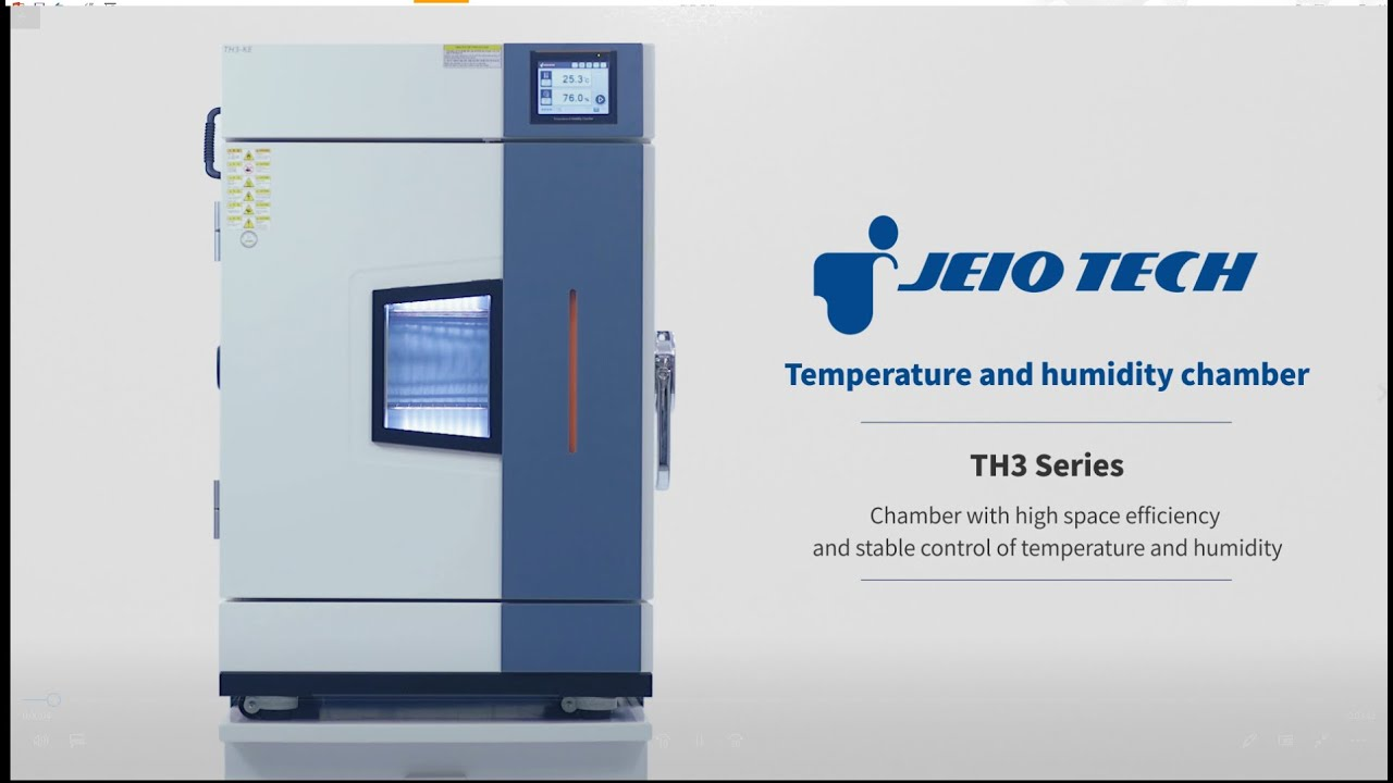 Temperature & Humidity chambers from TCM