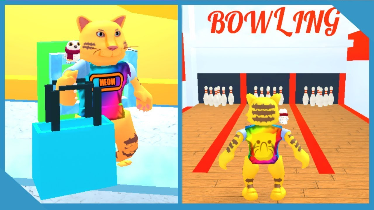 New Secret Bowling Alley In Roblox Shopping Simulator Youtube