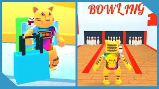 NEW SECRET BOWLING ALLEY IN ROBLOX SHOPPING SIMULATOR