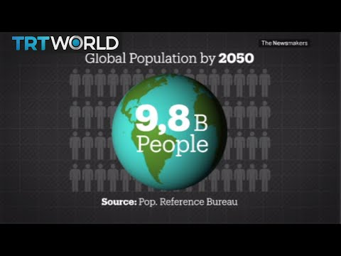 Growing world population