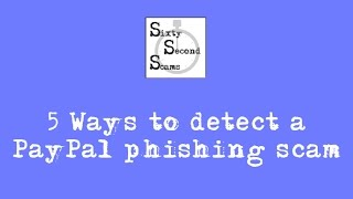 5 ways to detect a PayPal phishing scam