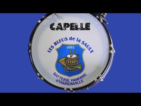 Fanfare Bleus de la Saulx accompagnés majorettes Les Starlettes 21 05 2017