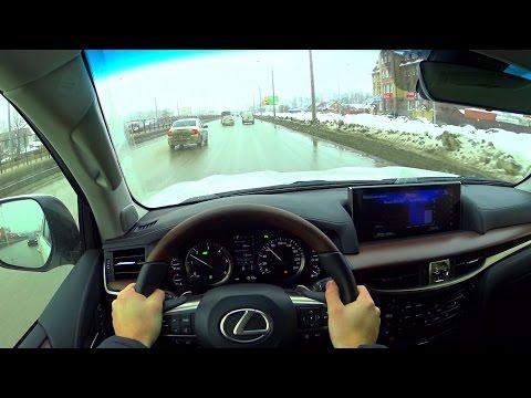 2016 Lexus LX 450d POV Test Drive