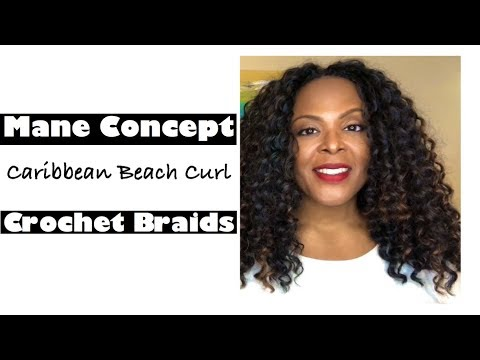 Mane Concept Caribbean Beach Curl Crochet Braids Review Ft Divatress