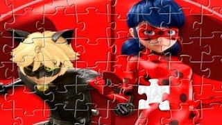 Miraculous Ladybug Games - Ladybug and Cat Noir Puzzle