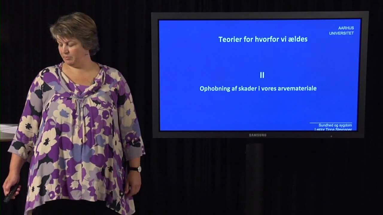 Tinna Stevnsner -- Hvorfor bliver vi gamle?