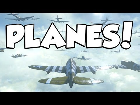 PLANES in COD WW2! (Call of Duty WW2 Campaign #9)