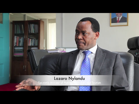 Conversation with Tanzania Minister of Tourism