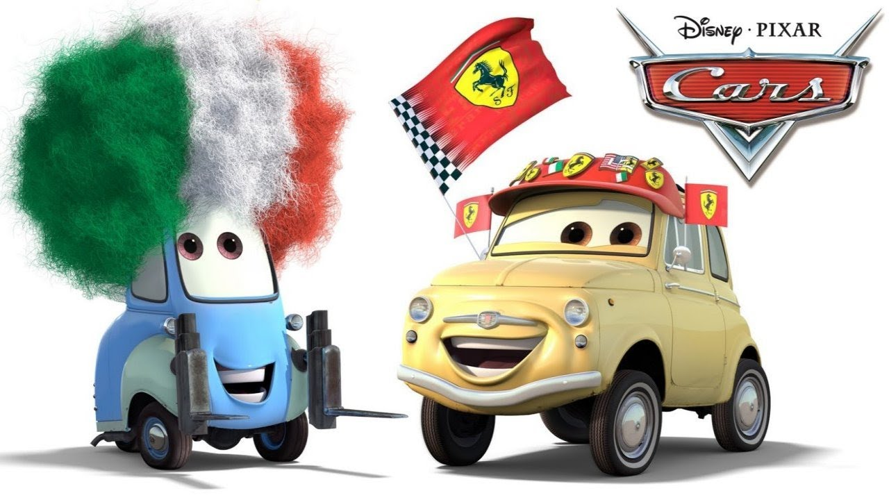 CARS movie characters - Luigi & Guido - 2 best friends ...