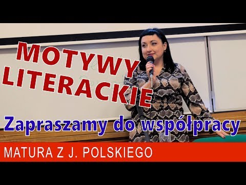 Motywy literackie na maturę - cz I #matura2020 #matura #maturatobzdura from YouTube · Duration:  11 minutes 41 seconds
