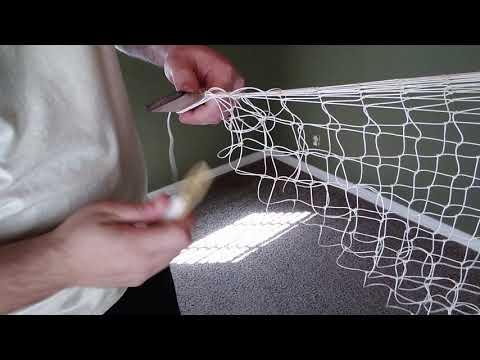 Starting A Hoop Net Throat