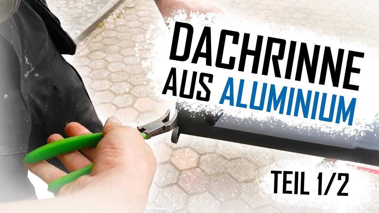 dachdecker / prefa dachrinne montieren / install the prefa roof