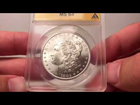 Stunningly Gorgeous Carson City Morgan Silver Dollar Purchase!!  A Rare & Attainable Coin!