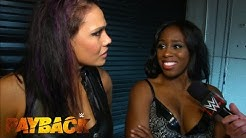 Naomi & Tamina comment on their victory at WWE Payback: WWE.com Exclusive, May 17, 2015
