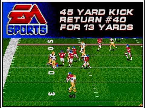 College Football USA '97 (video 173) (Sega Megadrive / Genesis)
