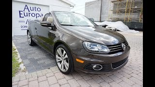 The Volkswagen Eos, Oddly, Has The Best Folding Hard Top - Full Review of 2013 VW Eos by Bill AEN