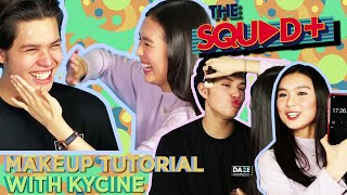 MAKEUP TUTORIAL WITH KYCINE   The Squad+