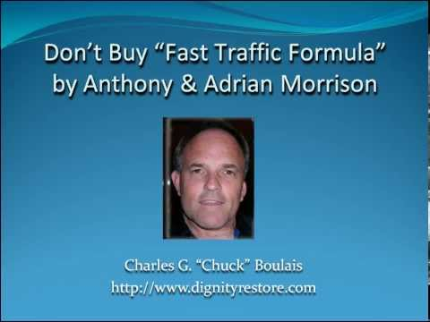 DON'T BUY Fast Traffic Formula by Anthony and Adrian Morrison; Fast Traffic Formula VIDEO REVIEW