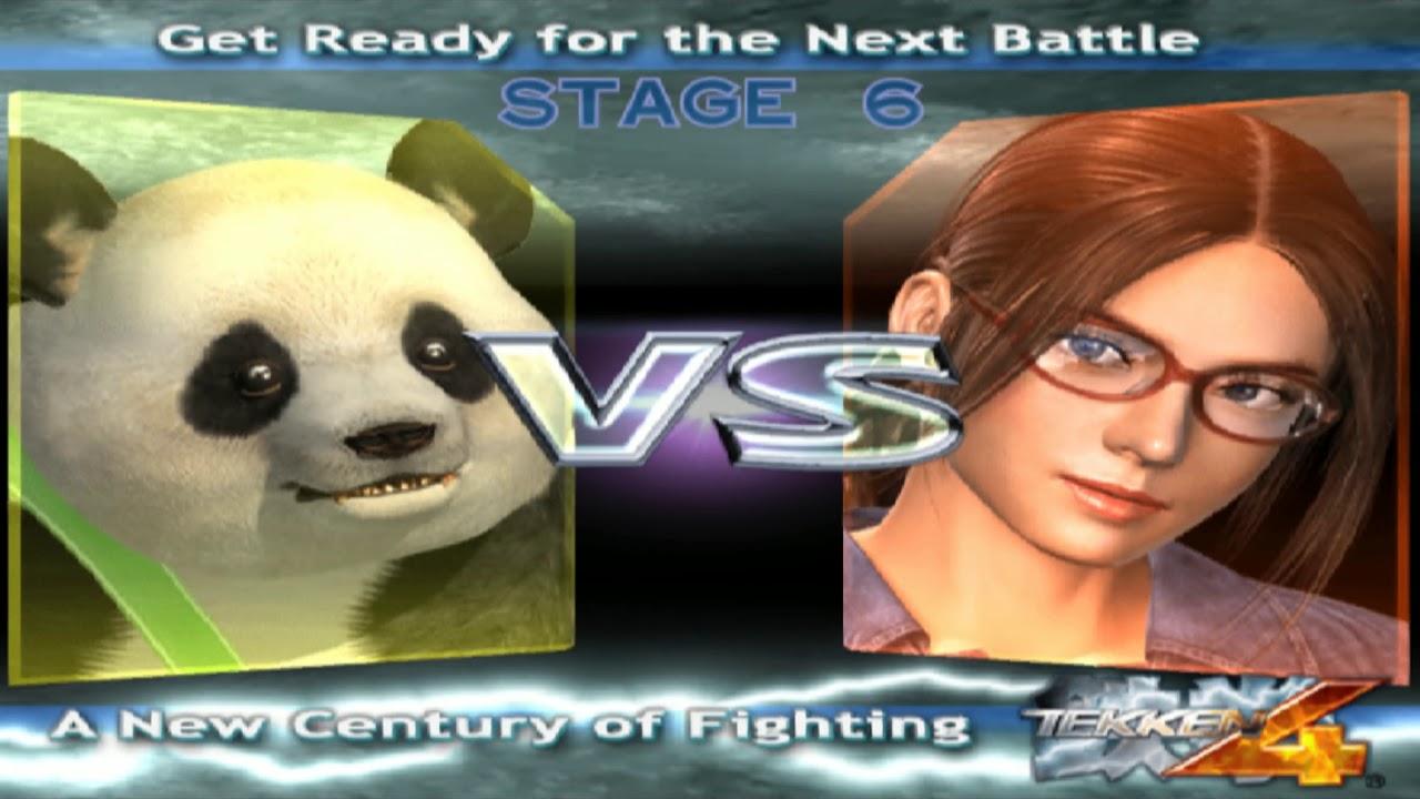 736 Tekken 4 Ps2 Hidden Characters 11 12 Panda Playthrough Youtube
