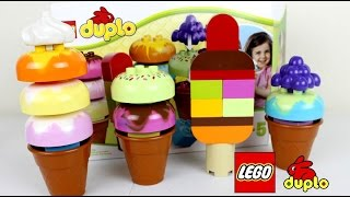 Lego Duplo Ice Cream & Lollipops Preschool Building Toy| Lego Duplo Toys