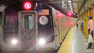 [MTA]: RARE | (Q) Trains Running Via West End (D) Line & Sea Beach (N) Line