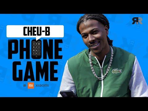 Youtube: CHEU-B: Tiakola, son émoji, Rihanna, CR7, les mangas, Beyoncé… [Interview Phone Game]