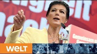 #AUFSTEHEN: Wagenknecht stellt ihre linke Sammlungsbewegung vor