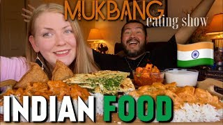 MUKBANG INDIAN FOOD!!! with Dolcefoodie!