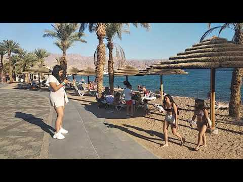 Эйлат набережная  Красное море, Израиль 2019