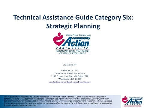Category 6   Strategic Planning