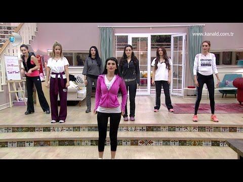 Kısmetse Olur - Gamze Taşkın'dan spor dersleri!