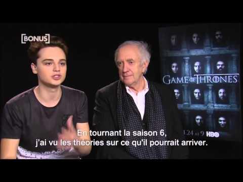 Jonathan Pryce & Dean Charles Chapman about D&D's importance on set (VOSTFR)