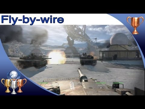 Call of Duty Ghosts - Fly by Wire - Trophy / Achievement Guide (Destroy 3 of 3 Helicopters)