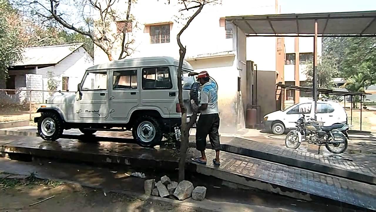 Mahindra Marshal Car Wash In Bangalore Youtube