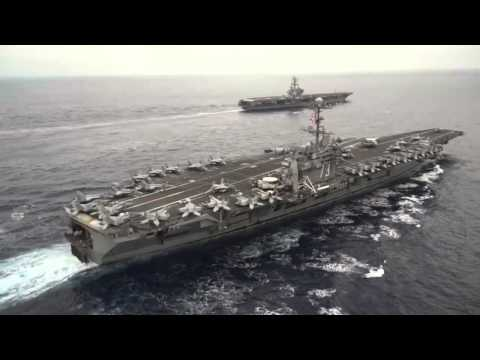 Crew swap begins for carriers George Washington and Ronald Reagan