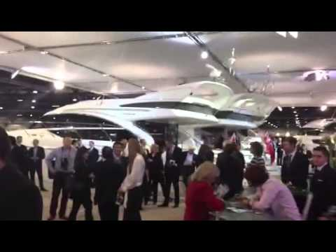 Princess Yachts 82 MY launch party