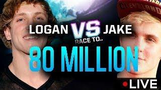 THE REAL BATTLE - TEAM 10 vs LOGAN PAUL!! 80 Million Subscribers
