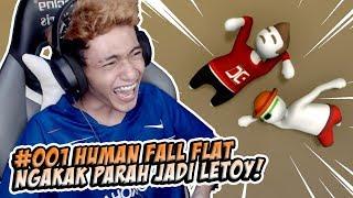 ISAN JONO JADI LETOY?! - HUMAN FALL FLAT INDONESIA #1