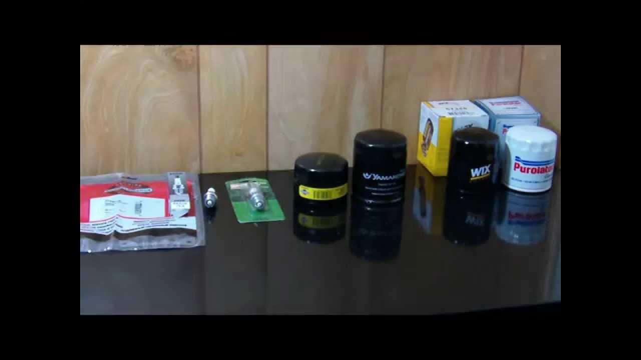 Briggs & Stratton InTek Oil Filter & Tune Up Parts - Armchair Mechanics &  Experts
