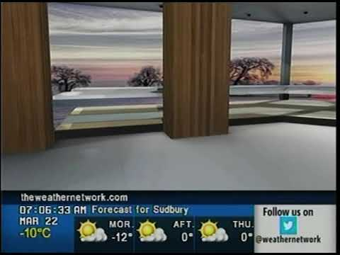 The Weather Network Set Glitch 3/22/2018
