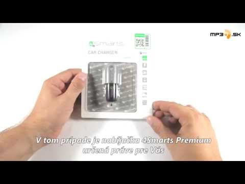 Autonabíjačka 4Smarts Rapid Qualcomm, 2x USB konektor - MP3.sk