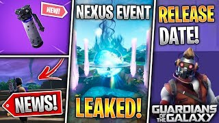 Star Lord Release Date, Shadow Bomb, Nexus Event Leaked, Tournament Scam? (Fortnite News)