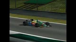 [F1C] Benetton-Ford B188 @Suzuka (Alessandro Nanini - mod JG 1988) [HD]