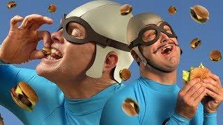 """""""Burger Rain"""" - The Aquabats! Music Video"""