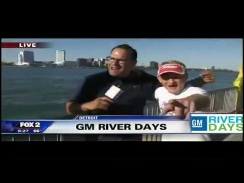 USA Freestyle Jet Ski with Fox 2 at GM Detroit River Days with Typhoon Tommy