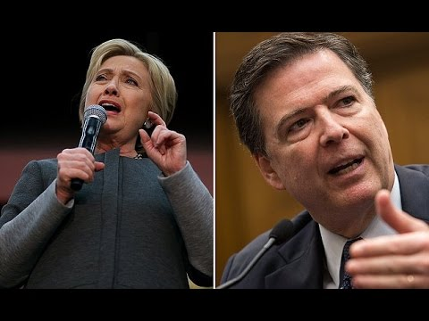 FBI Director James Comey Corrects the Record by Calling Hillary's Emails an Investigation