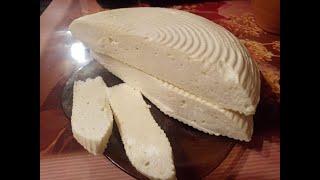 Осетинский сыр рикотта из козьего молока